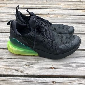 Nike Air Max 270 Running Shoes Sz 11.5 Black